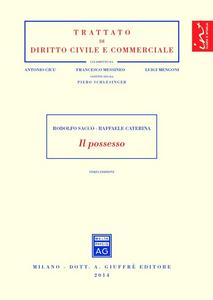 Libro Il possesso Rodolfo Sacco , Raffaele Caterina