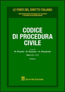Libro Codice di procedura civile