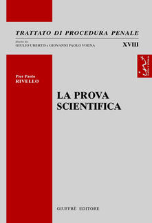 La prova scientifica - Pierpaolo Rivello - copertina