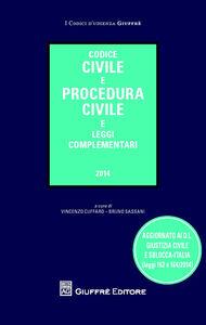 Libro Codice civile e procedura civile e leggi complementari