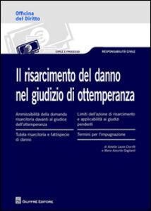Libro Il risarcimento del danno nel giudizio di ottemperanza M. Assunta Gagliardi , Amelia L. Crucitti