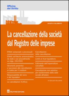 La cancellazione della società dal Registro delle imprese.pdf