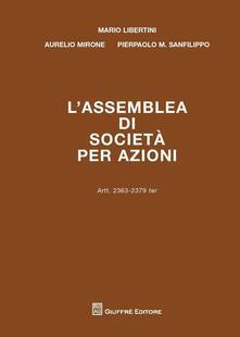 Camfeed.it L' assemblea di società per azioni. Artt. 2363-2379 ter Image