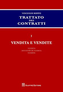 Voluntariadobaleares2014.es Trattato dei contratti. Vol. 1: Vendita e vendite. Image