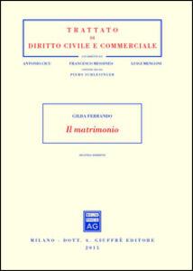 Foto Cover di Il matrimonio, Libro di Gilda Ferrando, edito da Giuffrè