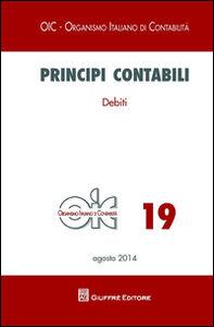 Libro Principi contabili. Vol. 19: Debiti.