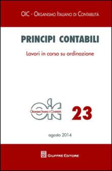 Principi contabili. Vol. 23: Lavori in corso su ordinazione. - copertina