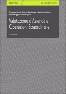 Valutazione d'azienda e operazioni straordinarie - copertina