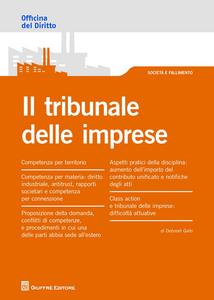 Libro Il tribunale delle imprese Deborah Gallo