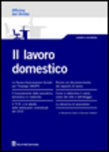 Foto Cover di Il lavoro domestico, Libro di Francesco Natalini,Beniamino Gallo, edito da Giuffrè