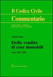Della vendita di cose immobili. Artt. 1537-1541
