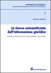 La ricerca automatizzata dell'informazione giuridica