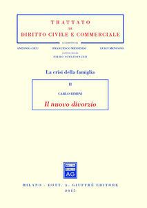 Foto Cover di Il nuovo divorzio, Libro di Carlo Rimini, edito da Giuffrè