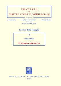 Libro Il nuovo divorzio Carlo Rimini