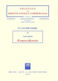 Il nuovo divorzio - Carlo Rimini - copertina