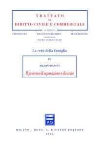 Libro Il processo di separazione e divorzio Filippo Danovi