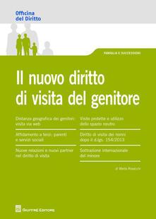 Il nuovo diritto di visita del genitore - Marta Rovacchi - copertina