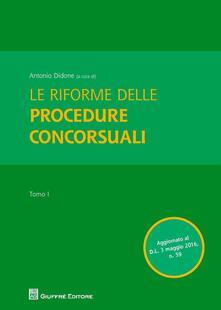 Le riforme delle procedure concorsuali - copertina