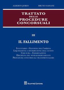 Daddyswing.es Trattato delle procedure concorsuali. Vol. 3: Il fallimento. Image