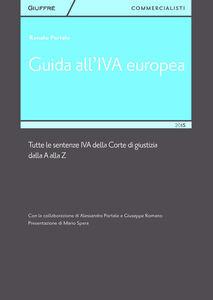 Foto Cover di Guida all'IVA europea, Libro di Renato Portale, edito da Giuffrè
