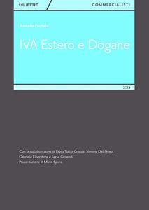 Libro IVA estero e dogane Renato Portale