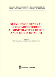 Libro Services of general economic interest, administrative courts and courts of audit