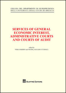 Services of general economic interest, administrative courts and courts of audit - copertina