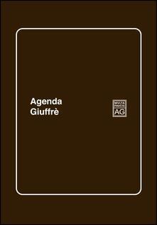 Agenda studio 2017. Ediz. marrone - copertina