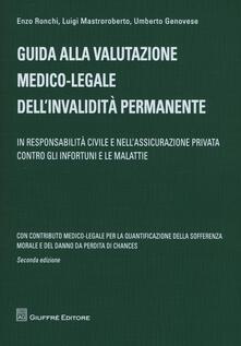 Secchiarapita.it Guida alla valutazione medico-legale dell'invalidità permanente. In responsabilità civile e nell'assicurazione privata contro gli infortuni e le malattie Image