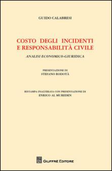 Lpgcsostenible.es Costo degli incidenti e responsabilità civile. Analisi economico-giuridica Image