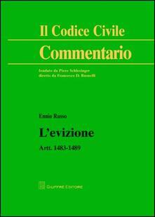 L' evizione. Artt. 1483-1489 - Ennio Russo - copertina