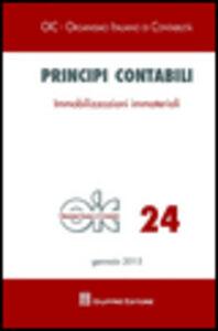 Libro Principi contabili. Vol. 24: Immobilizzazioni immateriali.