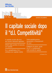 Libro Il capitale sociale dopo il «D.L. competitività» Daniele Fico
