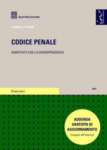 Libro Codice penale. Annotato con la giurisprudenza Giorgio Lattanzi
