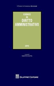 Foto Cover di Codice di diritto amministrativo, Libro di  edito da Giuffrè