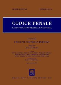 Foto Cover di Codice penale. Rassegna di giurisprudenza e di dottrina. Vol. 5, Libro di Giorgio Lattanzi,Ernesto Lupo, edito da Giuffrè