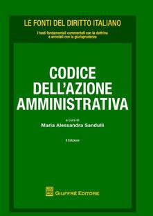 Codice dell'azione amministrativa - copertina