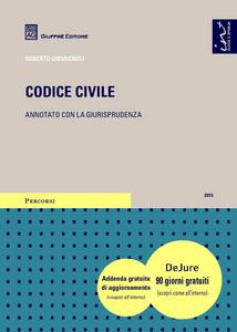 Libro Codice civile. Annotato con la giurisprudenza