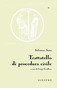 Trattatello di procedura civile