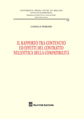 Il rapporto tra contenuto ed effetti del contratto nell'ottica della compatibilità