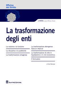 Libro La trasformazione degli enti Yari Pancrazi