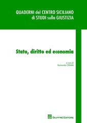 Stato, diritto ed economia