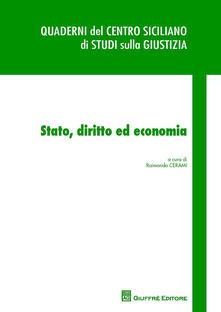 Stato, diritto ed economia - copertina