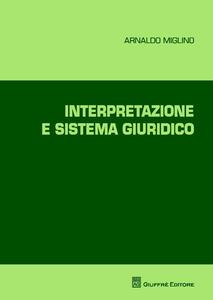 Interpretazione e sistema giuridico