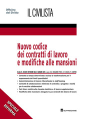 Nuovo codice dei contratti di lavoro e modifiche alle mansioni