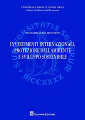 Investimenti internazionali, protezione dell'ambiente e sviluppo sostenibile