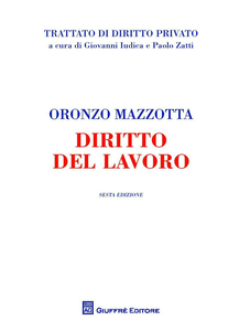 Libro Diritto del lavoro Oronzo Mazzotta