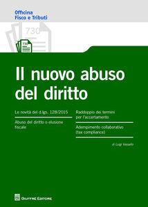 Libro Il nuovo abuso del diritto Luigi Vassallo