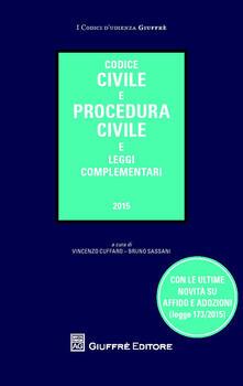 Codice civile e procedura civile e leggi complementari - copertina