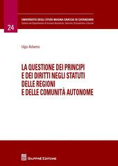 La questione dei principi e dei diritti negli statuti delle regioni e delle comunità autonome